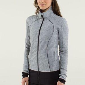 Lululemon ghost herringbone asana jacket size 6